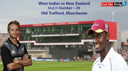 ICC World Cup 2019 - Match 29, West Indies vs New Zealand, Match Prediction and Tips