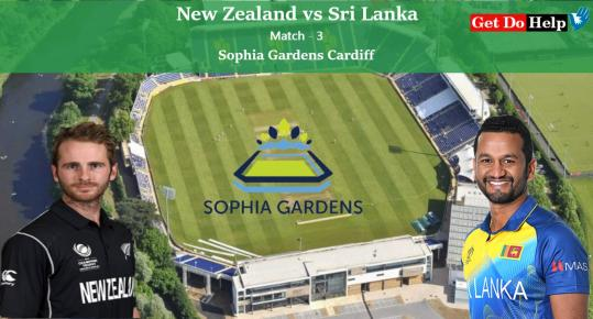 ICC World Cup 2019 New Zealand vs Sri Lanka, Match 3 - Live Cricket Scorecard