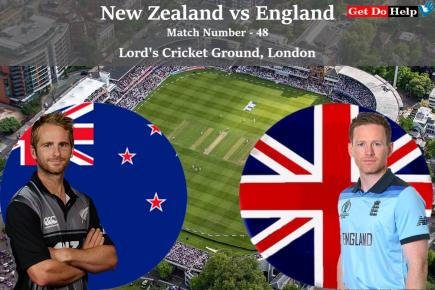 ICC World Cup 2019 - Match 48, ICC World Cup Final, New Zealand vs England, Match Prediction and Tips