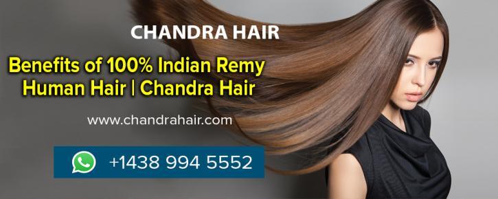 100% Virgin Indian Remy Human Hair   Chandra Hair