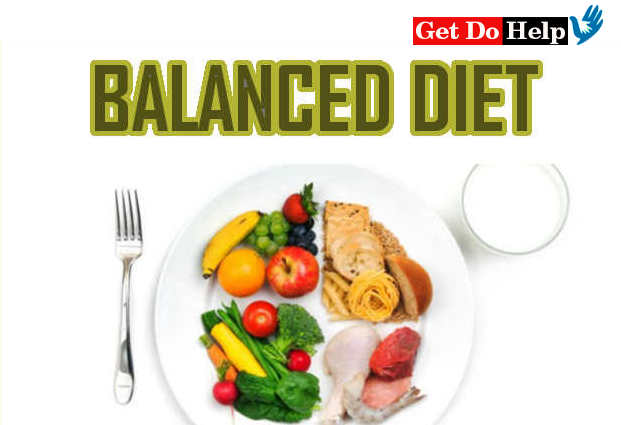 healthy and balanced diet