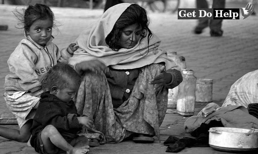 hunger people in india